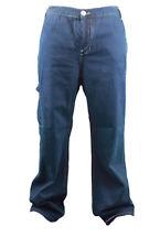 CUSTO BARCELONA Men's Peter Navy Denim Carpenter Jeans 697707 Sz 37 $209 NWT