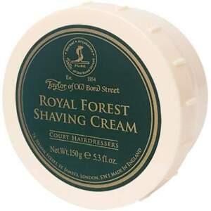 Taylor of Old Bond Street Royal Forest Shaving Cream 150g
