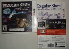 Regular Show: Mordecai & Rigby in 8-Bit Land (Nintendo 3DS, 2013) COMPLETE