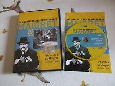 Gino Cervi LE INCHIESTE DEL COMMISSARIO MAIGRET - UN'OMBRA SU MAIGRET - dvd Ed