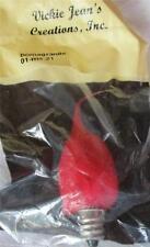 Pomegranate Scented Silicone 4 watt bulb ~ Vickie Jean's Made in USA