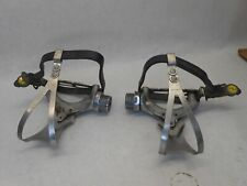 Shimano 600 AX PD-6300 Aero Road Bike Pedals & Toe Clips Bicycle Parts '81 - '84