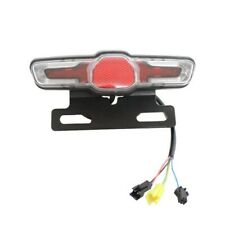12W LED Electric Bicycle Headlight +rear Tail Light +Switch Cycle Bike Parts