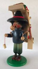 Vintage Steinbach Mercator Merchant Large Wood Figure Made In West Germany