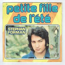 """Stephan FORMAN Vinyl 45 tours SP 7"""" PETITE FILLE DE L'ETE - AZ 597 Frais Reduit"""