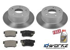 Honda accord type r CH1 2.2 arrière disques de frein & plaquettes 98-03 CH1 * gratuit liquide de frein *