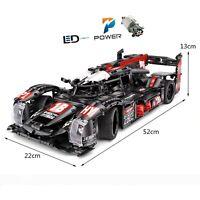 Technic Hypercar 42056 Auto Car 42065 Bausteine Blöcke 42083 MOC Remote control