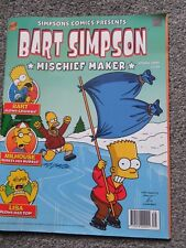 Bart Simpson Mischief Maker 2005 Simpsons comic