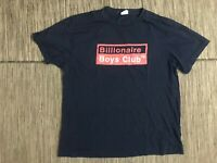 Billionaire Boys Club Men's XL Graphic Tee T Shirt Blue Cotton Short Sleeve