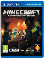 Minecraft: PlayStation Vita Edition (Sony PlayStation Vita, 2014) PS Vita