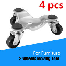 4pcs Mobile Industrial wheel 3 Wheels  Moving Dolly Move Tool For Furniture