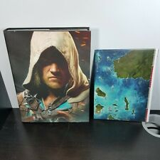 Assassins Creed IV 4 Black Flag Collectors Edition Strategy Guide Book Hardcover