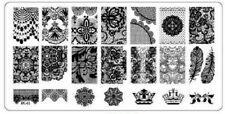 Rectangular Nail Art Image Stamping Plate Manicure Pedicure Tool #03