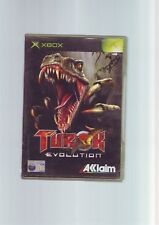 TUROK EVOLUTION - ORIGINAL MICROSOFT XBOX SHOOTER GAME / 360 COMPATIBLE FastPost