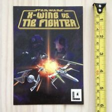 NEW Star Wars X-WING VS TIE FIGHTER postcard LucasArts 1997 promotional promo PC