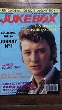 Juke Box Magazine 32 Johnny Hallyday cover, Rolling Stones, Zombies ...