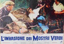 FOTOBUSTA 4, L'INVASIONE DEI MOSTRI VERDI (THE DAY OF THE TRIFFIDS) FANTASCIENZA