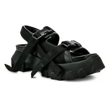Rick Owens Black Tractor Sandals Size 40🌟🌟🌟