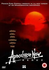Apocalypse Now Redux 1979 Marlon Brando, Robert Duvall Brand New Sealed DVD