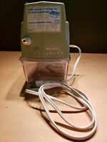 VINTAGE OSTER IMPERIAL SNOWFLAKES ICE CRUSHER  AVOCADO GREEN