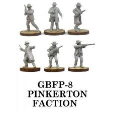 Pinkerton Fraktion - Knuckleduster Miniaturen - alte Westen - 28mm