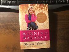 Winning Balance by Shawn Johnson 1st Hardcover w/ Dust Jacket Gymnast