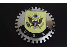 USA United States Eagle Grille Badge Bumper License Topper Accessory Chrysler