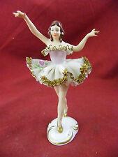 Danseuse en Porcelaine de Dresde Couronne