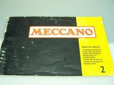 1977 Meccano Book of Models #2                                   1974
