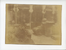 Epicerie, vers 1890 Vintage albumen Print Tirage albuminé  13x18  Circa 18