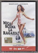 dvd MICA SCEMA LA RAGAZZA! Bernardette LAFONT Claude BRASSEUR