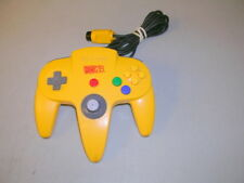 Genuine Authentic Donkey Kong Banana Yellow N64 Controller Rare Nintendo 64