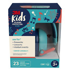 3M Kids Hearing Protection Plus PKIDSP-TEAL, Teal, 4 each