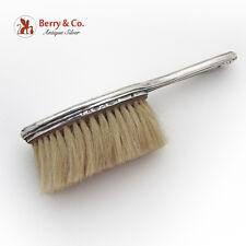 Shell Clothes Brush Horse Hair 1890 Dutch 800 Silver