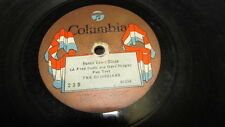 THE GEORGIANS COLUMBIA 78 RPM RECORD 23-D HOME TOWN BLUES / YOU MAY BE FAST