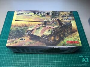 Meng Model 1/35 TS-035 Sd.Kfz.171 Panther Ausf.A Late WWII german