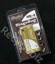 New! Radial Engineering Sb-4 Piezo Di Active Phantom Powered!