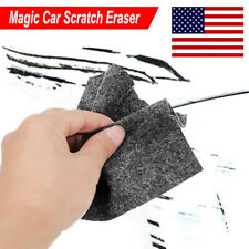 Car Scratch Eraser Remover Magic Polish Nano Cloth Paint Scuffs Surface Repair