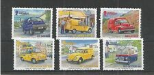 GUERNSEY 2013 EUROPA POST OFFICE VEHICLES SG,1457-1462 UM/M N/H LOT R295