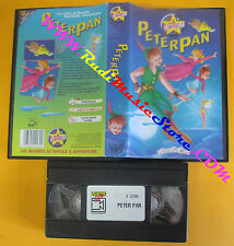 VHS film PETER PAN le favole piu'belle STARDUST animazione S 12160 (F120) no dvd