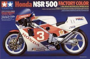 Tamiya 14099 1/12 Scale Model Motorcycle Kit HRC Honda NSR500 1986