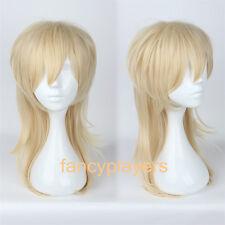 Kaoru hakaze Ensemble Stars Blonde Fashion Unisex Cosplay Costume Wig Hair