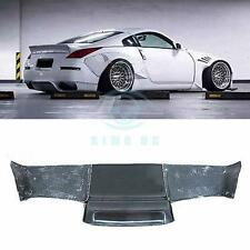 Car Frp Fiber Glass Wide Rear Diffuser Wing Protect Auto For Nissan 350Z Z33