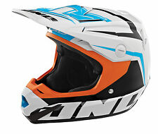 ONE INDUSTRIES ATOM MOTOCROSS HELMET ARRAY SMALL *IN STOCK* ORANGE/CYAN *SALE*