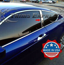 2008-2012 Honda Accord Coupe 2Pc Chrome Pillar Post Trim Stainless Steel