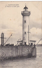 Lighthouse, Le Phare De La Vieille Jetee, Saint-Nazaire (Loire-Atlantique), Fran
