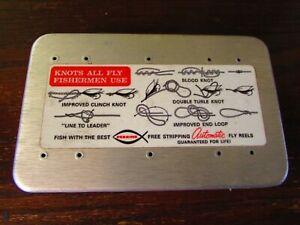 23  Fishing Flies  in a aluminum box
