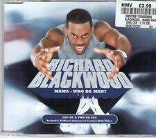 (AY721) Richard Blackwood, Mama Who Da Man? - 2000 CD