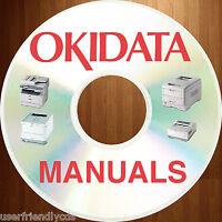 Oki OKIDATA Copier Printer MFC Mulit-function Fax SERVICE Manual MANUALS on DVD