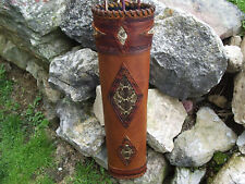 RATTLESNAKE LEATHER BACK QUIVER/TRADITIONAL ARCHERY